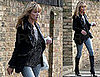 Kate Moss and Jamie Hince Leave Her London House