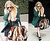 Mary-Kate Olsen With Fur Bag in LA