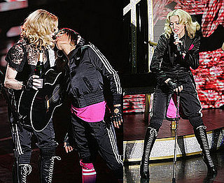 Madonna's Still Very Into the On Stage Make-Out