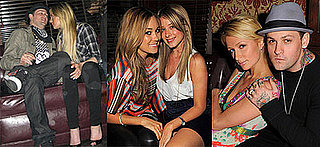 Lindsay Lohan, Paris Hilton, Lauren Conrad, Lo Bosworth at Hornitos Cinco De Mayo Party, Crown Bar, LA