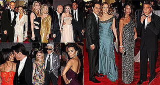 Tom Cruise, Katie Holmes, David and Victoria Beckham, George Clooney, Julia Roberts at 2008 Costume Institute Gala