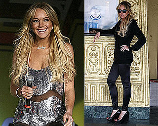 Lindsay Lohan Debuts Leggings Line, Goes to Wango Tango, Dropped From Movies