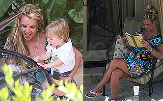Images of Britney and Jayden James