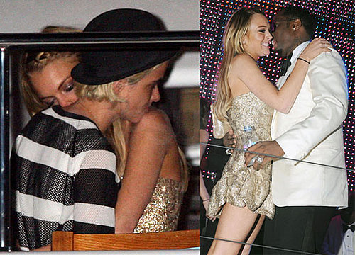 Images of Lindsay Lohan Kissing Samantha Ronson