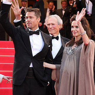 Top Celebrity News Stories For the Week of May 18, 2008 — Angelina Jolie and Brad Pitt at Cannes