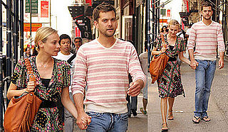 Diane Kruger and Joshua Jackson Hold Hands in NYC