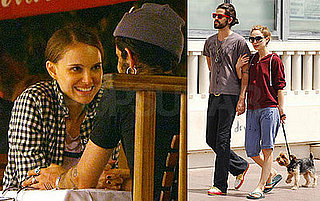 Natalie Portman and Devendra Banhart Out to Dinner, Kissing in France
