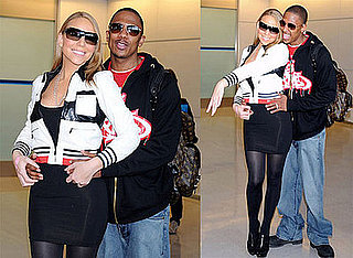 Mariah Carey and Nick Cannon in Japan For MTV Video Music Awards