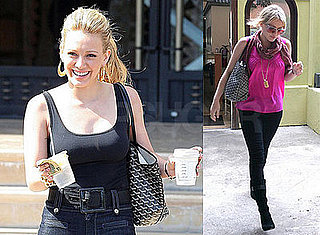 Hilary Duff Spends the Weekend Out in LA With Mike Comrie