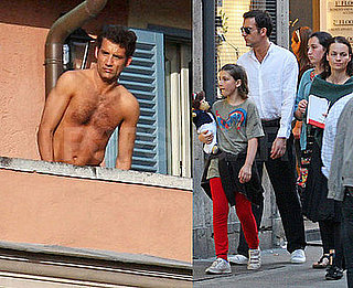 Clive Owen Adds to the Beauty of Rome