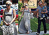 Gwen Stefani, Gavin Rossdale and Kingston Rossdale Wait for the New Baby