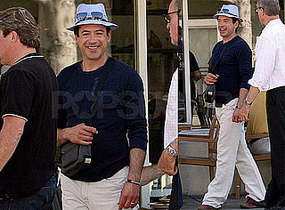 Robert Downey Jr. Goes Preppy — Hot or Not?