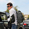 John Mayer Arrives Home