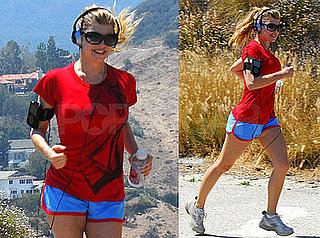 Photos Of Fergie Working Out