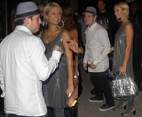 Photos of Paris Hilton Filming Her Reality Show