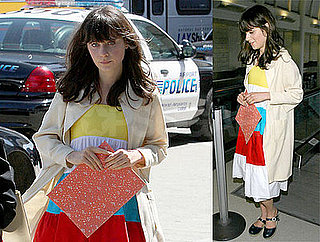 Zooey Deschanel at LAX