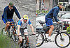 Photos of George Clooney Bike Riding in Lake Como