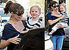 Celebrity Baby Photos Violet Affleck in LA With Jennifer Garner and Ben Affleck