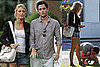 Blake Lively and Penn Badgley Take a Walk In the Hamptons