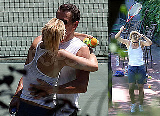 Photos of Lance Armstrong and Kate Hudson Kissing and Playing Tennis