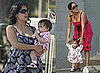 Salma Hayek and Daughter Valentina Pinault Shop in LA