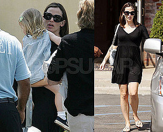Photos of Jennifer Garner in a Little Black Dress in LA