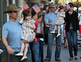 Photos of Tom Cruise, Katie Holmes, Suri Cruise on the Fourth of July