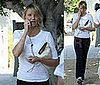 Photos of Cameron Diaz After the Gym in LA