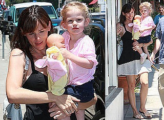Photos of Jennifer Garner and Celebrity Baby Violet Affleck in LA