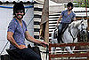 Photos of Jake Gyllenhaal Riding a Horse in England For Prince of Persia