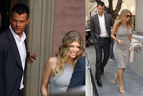 Photos of Fergie, Josh Duhamel, will.i.am, Apl de ap at Taboo's Wedding