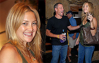 Photos of Kate Hudson and Lance Armstrong Visiting Matthew McConaughey's Baby Levi