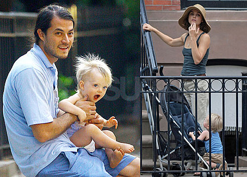 Photos of Keri Russell and Shane Deary Out with Their Cute, Cute Baby River