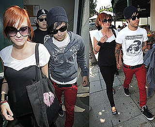 Photos of Pregnant Ashlee Simpson and Pete Wentz in LA