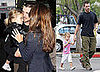 Photos of Christian Bale With Wife and Daughter While The Dark Knight Breaks Box Office Records
