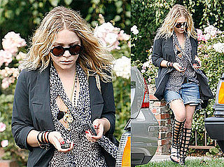 Photos of Mary-Kate Olsen Around LA