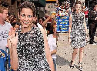 Photos and Video of Amanda Peet on The Late Show With David Letterman