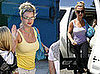 Photos of Britney Spears Shopping and at Dance Class in LA