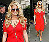 Photos of Jessica Simpson at the Ritz Carlton in New York City