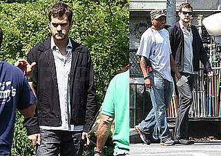 Photos of Joshua Jackson on the Set of Fringe in Brooklyn