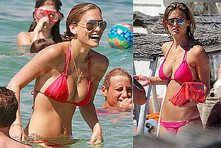Model Bar Refaeli Bikini Photos in St. Tropez France