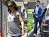 Photos of Pregnant Jennifer Garner and Ben Affleck in Brentwood
