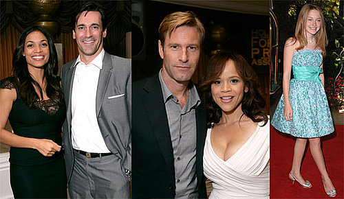 Photos of Actors at HFPA Installation Luncheon, Including Rosario Dawson, Aaron Eckhart, Dakota Fanning, Dana Delany, Jon Hamm