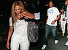 Photos of Beyonce Knowles and Jay-Z Leaving the Spotted Pig