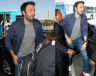Photos of Ben Affleck Arriving at LAX