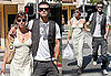 Photos of Jessica Biel and Justin Timberlake at Lunch Looking In Love in LA