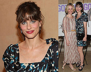Photos of Amanda Peet and Sarah Paulson at Gotham Magazine Cover Party