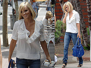 Photos of Jenny McCarthy at Whole Foods in LA