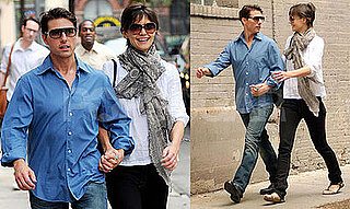 Photos of Tom Cruise and Katie Holmes Holding Hands Walking to Rehearsal in NYC