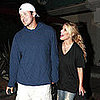 Jessica Simpson And Tony Romo Leave Nobu